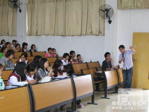 揭阳技工学校:泰国华裔青少年到我校学中文